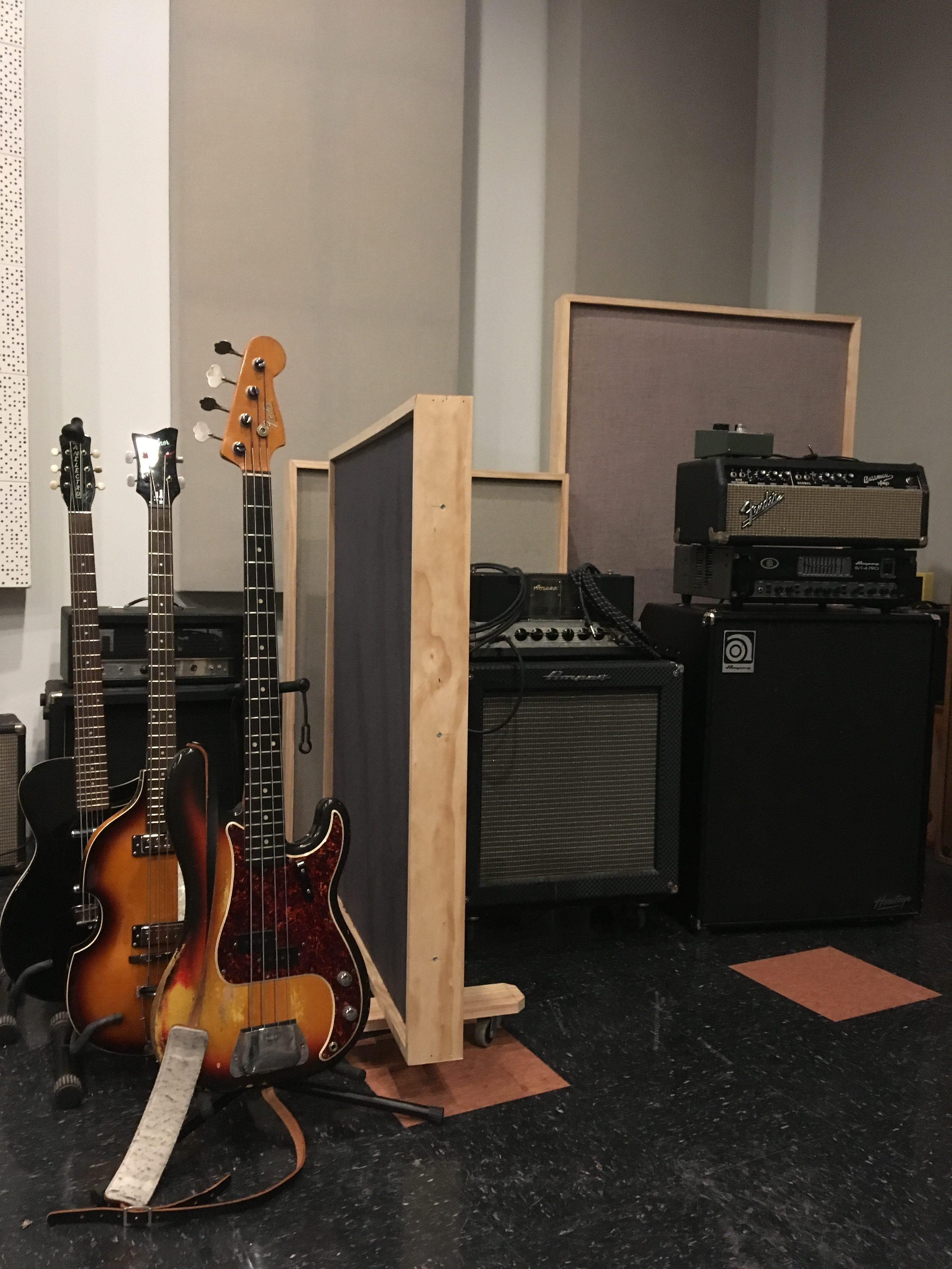 Memphis Magnetic Recording basses and bass amps