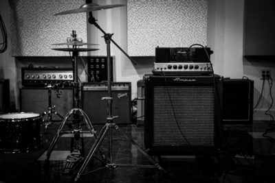 Amps at Memphis Magnetic Recording Co.